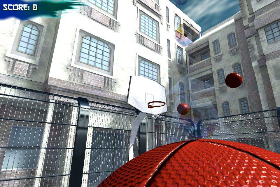 Screenshot 3D FreeThrow HD
